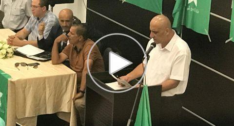 قائمة الناصرة الموحدة تعلن عن دعمها للمرشح سلام