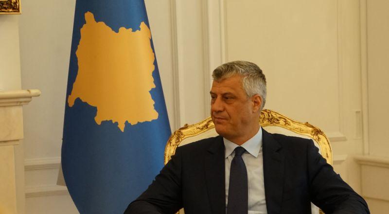 رئيس كوسوفو، هاشم ثاتشي، يعرب عن استعداد بلاده لفتح سفارة في القدس!
