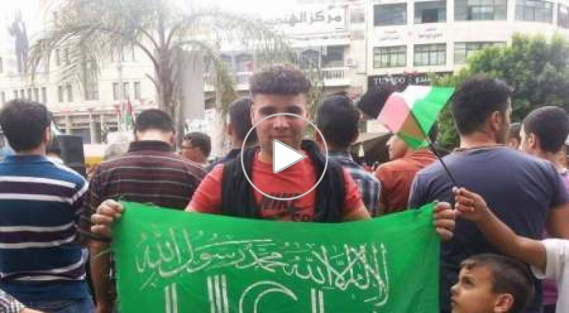 نور الدين ابو حاشية بعد تنفيذه لعملية الطعن بتل ابيب