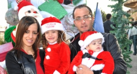 فيديو خاص بمسيرة الميلاد النصراوية
