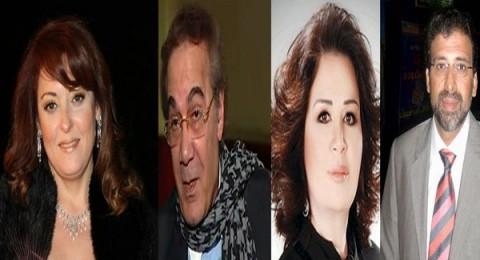 الفنانون يرفضون مغادرة مصر رغم التهديدات