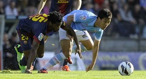 تعادل برشلونة امام سيلتا فيغو (2-2)
