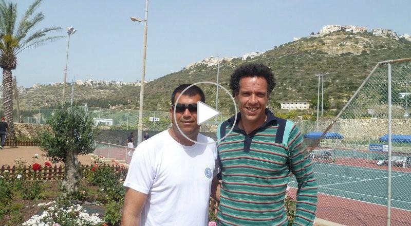 المغربي يونس العيناوي: آمل أن يحل السلام على المنطقة وألا تدخل السياسة في الرياضة