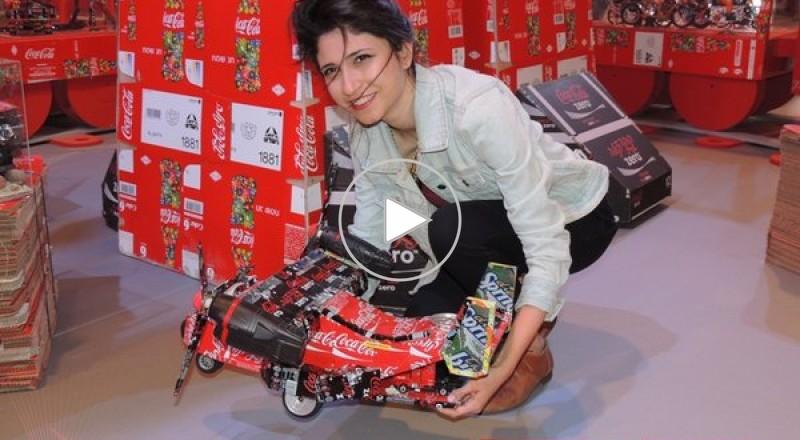كوكا كولا تقيم مصنع اعادة التدوير للمحافظة على البيئة بمشاركة المستهلكين