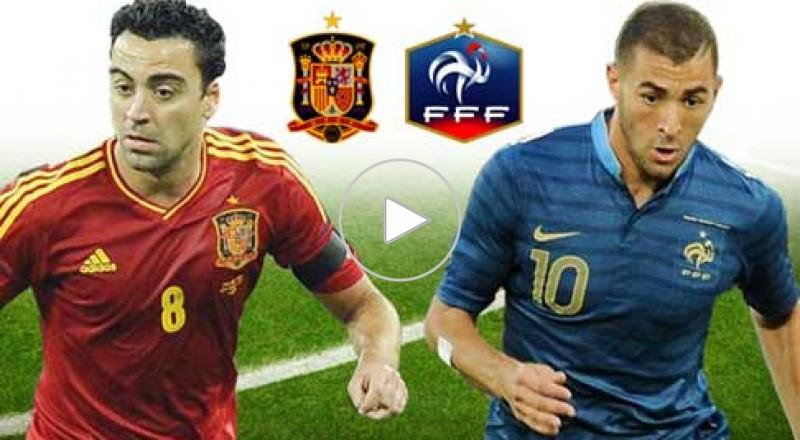 فرنسا VS اسبانيا