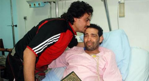 سعد الصغير فى المستشفى بعد تكرار آلام المعدة