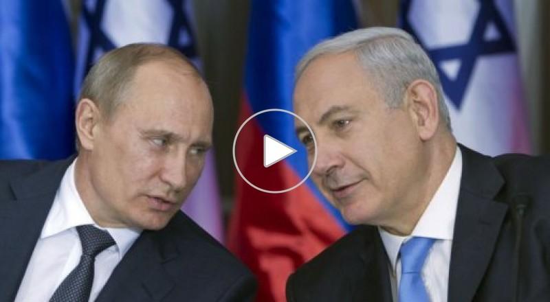 بوتين يزور اسرائيل ويغازل ابو مازن