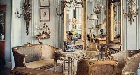 تصاميم غاية في الفخامة لغرفة الصالون الكلاسيكية