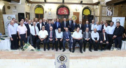 حفل تبادل الرئاسة في نادي روتاري الناصره لسنة 2018-2019