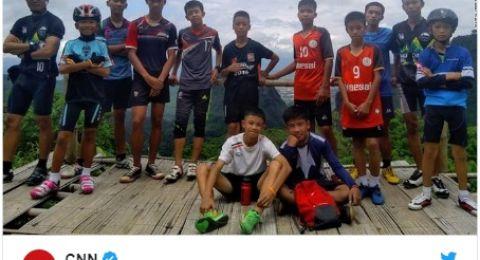 أسبوع على اختفاء فريق كرة قدم داخل كهف بتايلاند