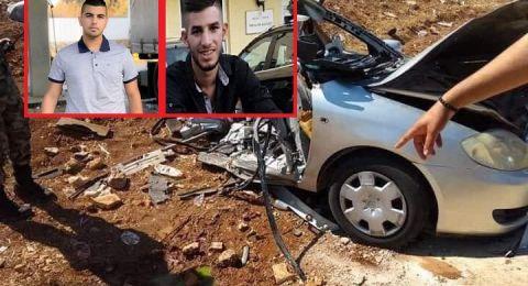 دبورية: مصرع علي نجار وأدهم رومي من الـ 48 في حادث سير مروع في جنين