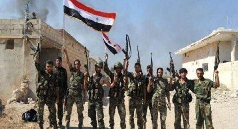 الجيش السوري يستعيد السيطرة على بلدة بصر الحرير