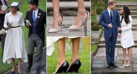 لماذا تفضل ميغان ماركل ارتداء أحذية كبيرة؟