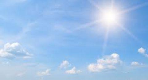 حالة الطقس: ارتفاع درجات الحرارة بحدود 6 درجات مئوية