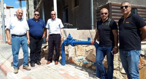 مياه الجليل تسلم مشاريع القرية التعليمية في مدينة سخنين