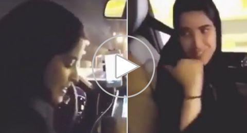 """تعرفوا على أول سعودية تعمل سائقة في """"أوبر"""" بالرياض"""