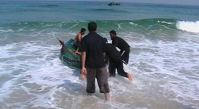 العثور على جثة شاب غرق قبالة خان يونس