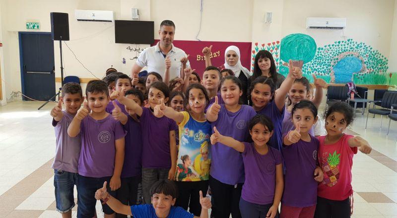 بستان المرج: اجواء مميزة بافتتاح مركز التعليم