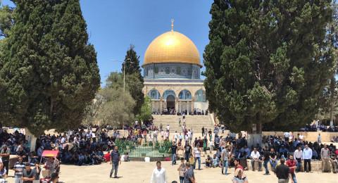خطيب الاقصى يرحب بالمصالحة الفلسطينية بين فتح وحماس