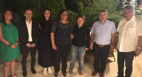 النائبان توما-سليمان وجبارين يلتقيان بوفد من البرلمانيين الأوروبيين