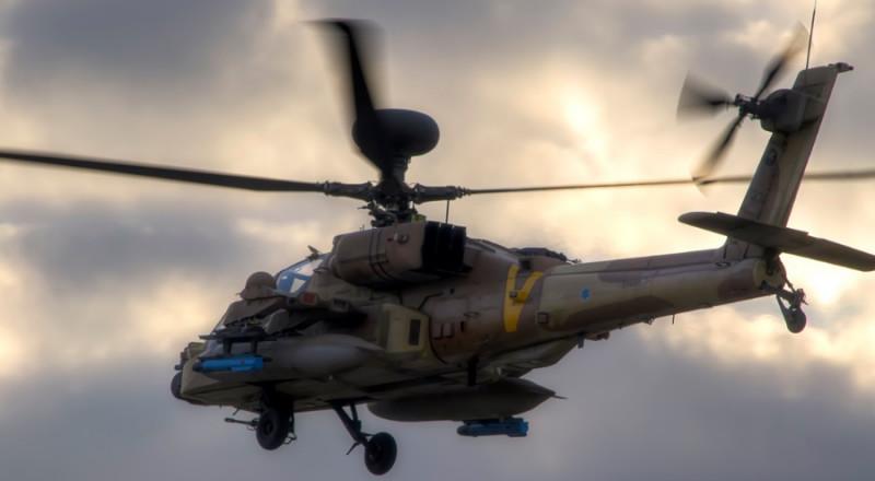 الجيش الاسرائيلي يقرر إعادة تشغيل طائرات الأباتشي