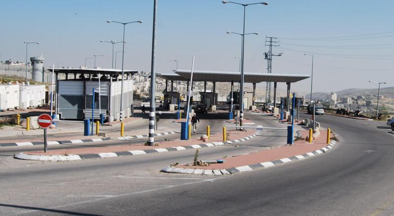 واخيراً... زيادة المسارات المؤدية لمعبر الجلمة من جهة اسرائيل