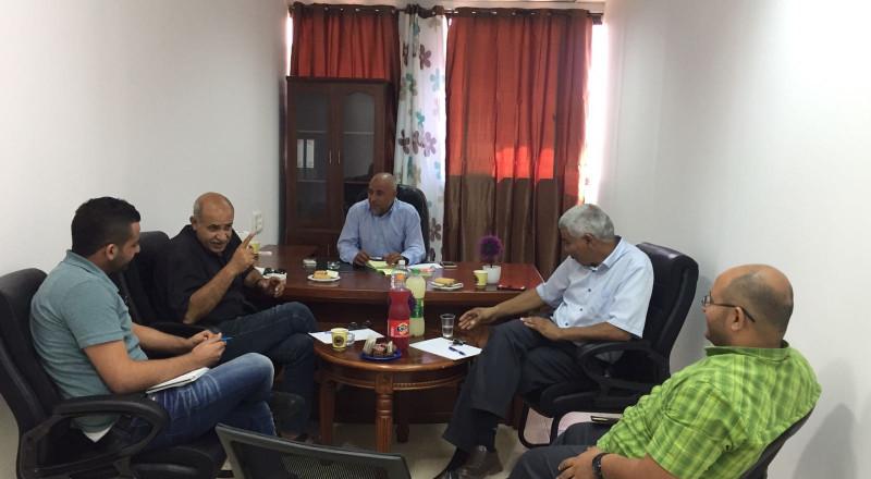 جلسة تنسيق ثلاثية تجمع النواب العرب من النقب