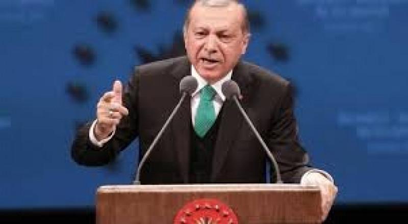 أردوغان يهدد أكراد العراق و يتهم الموساد بالوقوف وراء الاستفتاء