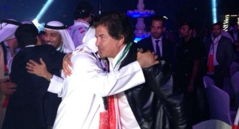 النجم العربي وليد توفيق يحتفل بفوز دبي بتنظيم اكسبو 2020