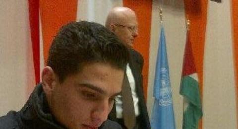 محمد عساف يحضّر كلمته التي سيلقيها في الأمم المتحدة