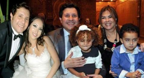 اول ابتسامة علنية لهاني شاكر بعد وفاة ابنته