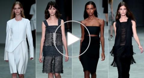 عرض أزياء Ralph Lauren لربيع وصيف 2014 من أسبوع الموضة في نيويورك.