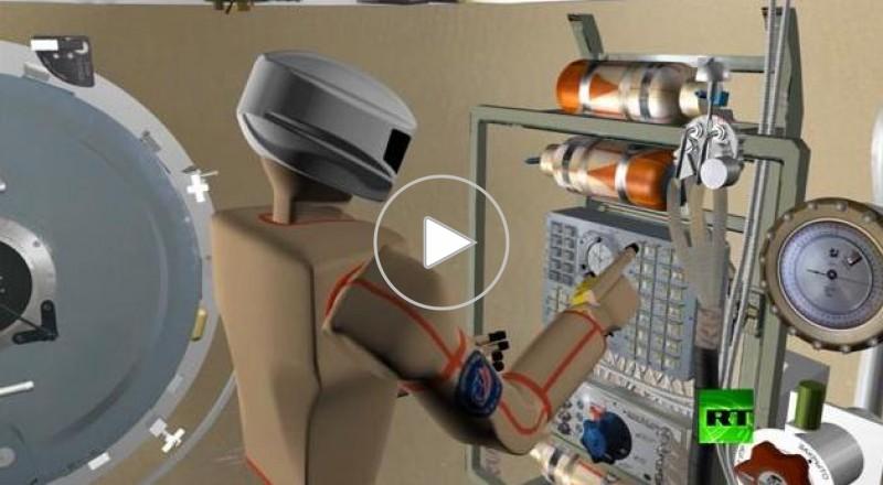 روسيا تعرض روبوتا فضائيا يعدّ للأعمال المعقدة في الفضاء المكشوف