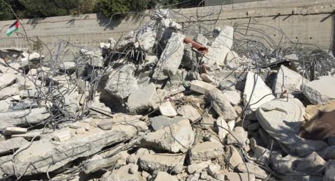 بلدية القدس تقتحم بلدة سلوان وتهدم منشأتين بحجة عدم الترخيص