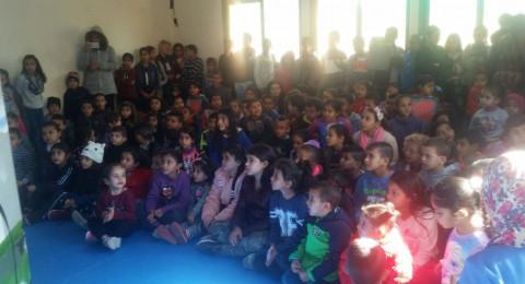 بشرى كبيرة لأهالي الخروبية والأحياء المجاورة بحضور مئات الأطفال للفعاليات في فرع شبكة المركز الجماهيري