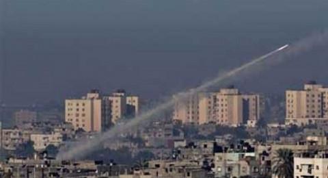 اطلاق 32 صاروخا ً من غزة صوب المستوطنات منذ اعلان ترامب