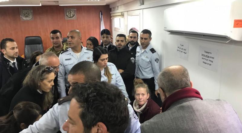 الاحتلال يطالب بتمديد اعتقال عهد التميمي