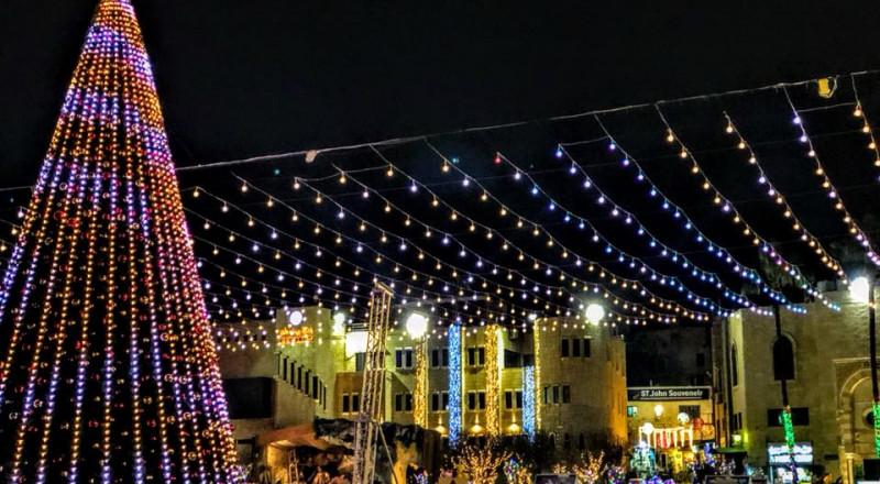 القدس: الكنائس المسيحية تحتفل بعيد الميلاد حسب التقويم الغربي