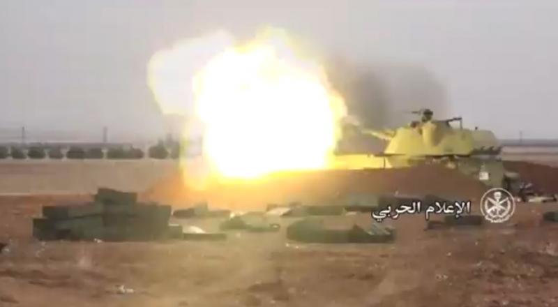 الاعلام الحربي: الجيش السوري وحلفاؤه يتقدمون بريف إدلب
