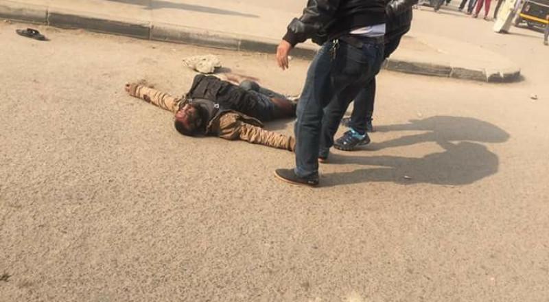 هجوم إرهابي على كنيسة في القاهرة: مقتل الإرهابي واستشهاد شرطيين ومواطن