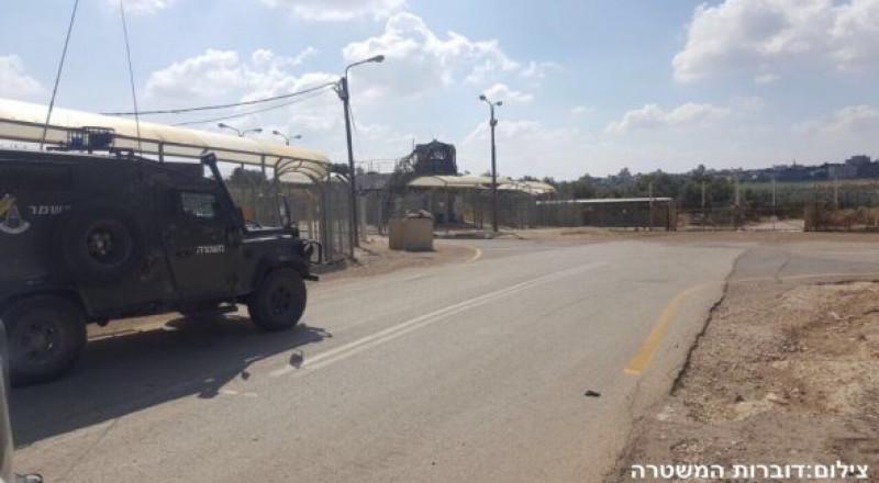 اعتقال شاب فلسطيني بحوزته عبوة ناسفه امام سالم