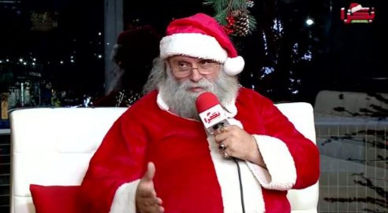 بابا نويل - نقولا عبده رجل الميلاد الذي يمنح الفرحة للكبار والصغار منذ سنوات