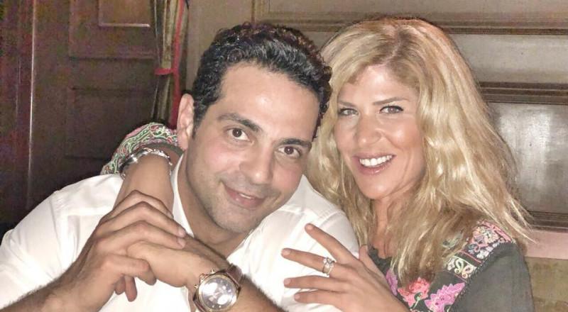 هاني أبو النجا يكشف عن صور حبيبته الجديدة