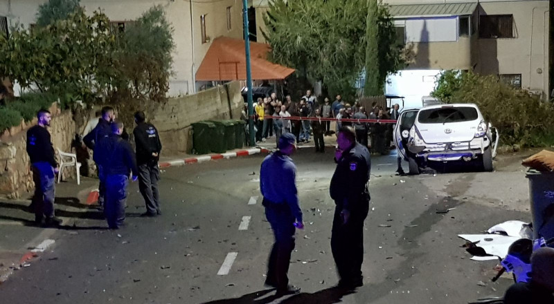 انفجار سيارة في يركا وإصابة شابة بجراح خطيرة!