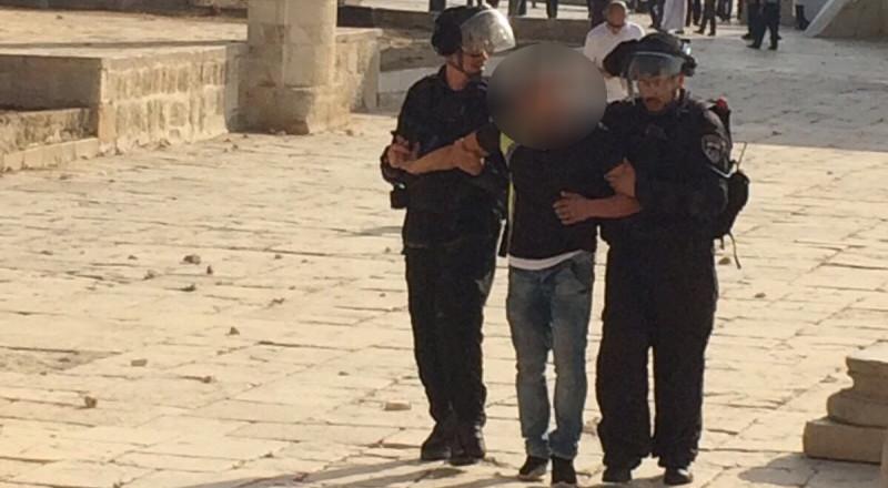 الجيش الإسرائيلي يعتقل قاصرين في القدس