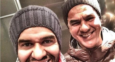 """حسين الجسمي في """"Selfie"""" مع شقيقه!"""