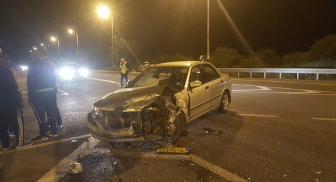 شعب: حادث طرق و- 7 اصابات