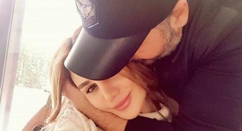 عوارض الحمل تظهر على زوجة رامي عياش