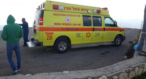 إصابة خطيرة لرضيع تعرض للدهس في باقة الغربية!