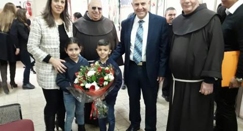 مدير عام وزارة التربية يزور المدارس الاهلية في الناصرة بمرافقة واسعة